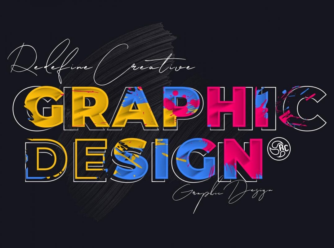 Redefine Creative Graphic Design Desktop
