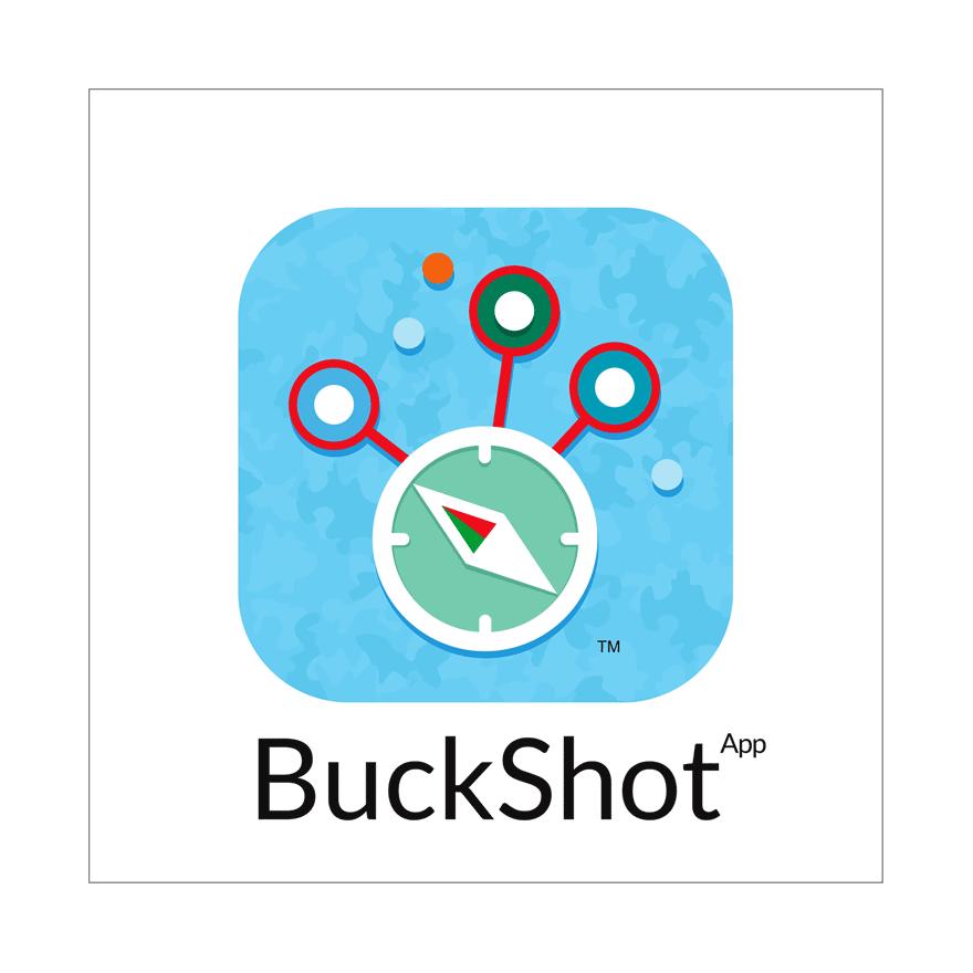 Buckshot logo by Redefine Creative