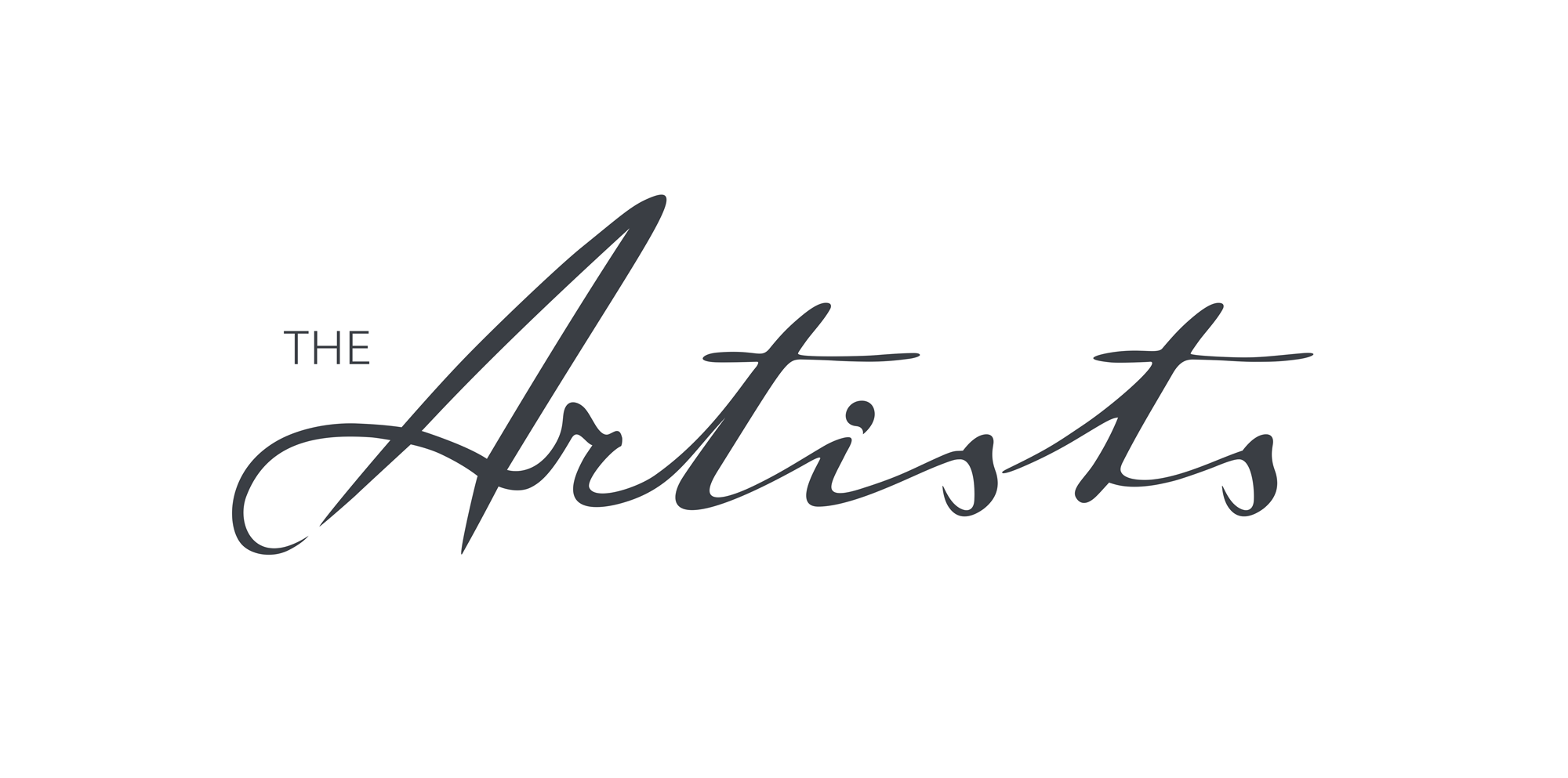The Artists logo by Redefine Creative