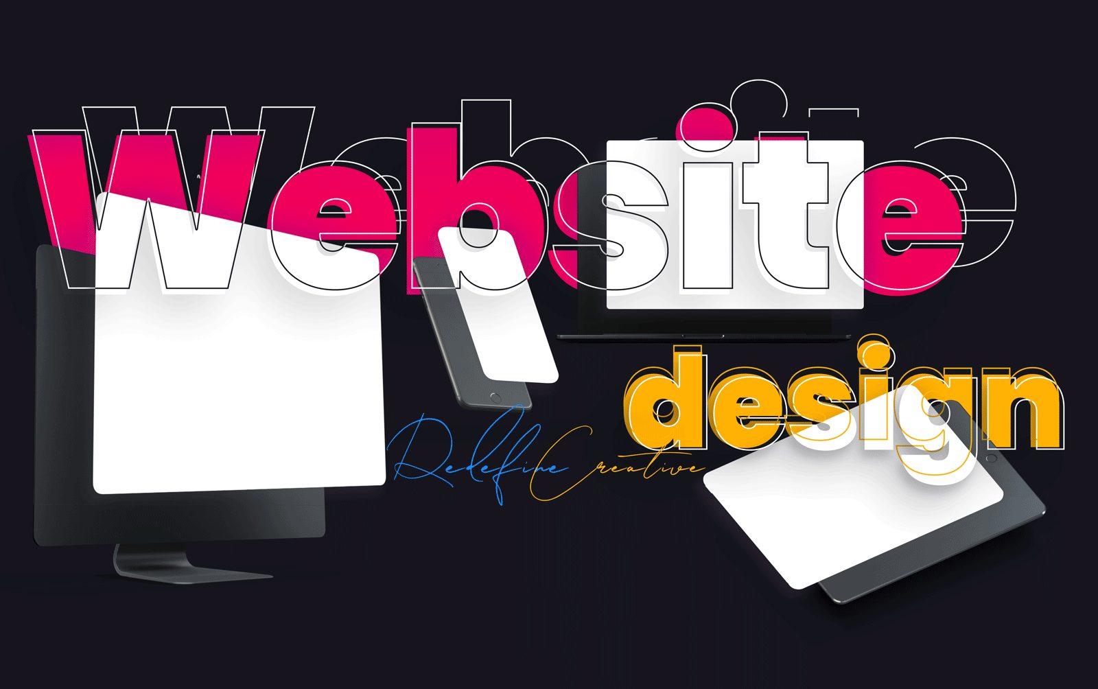 Redefine Creative Website Design BLK 1